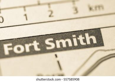 Fort Smith. Arkansas. USA