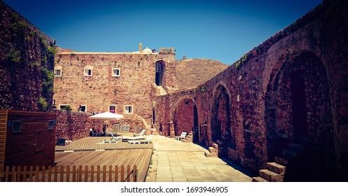 Fort of St John the Baptist in Berlenga island, Portugal
