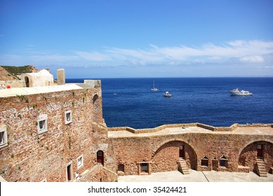 Fort of St John the Baptist in Berlenga island, Portugal.