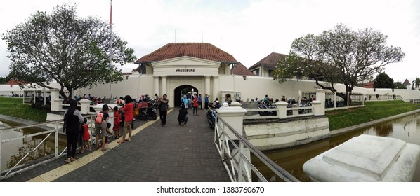 fort vredeburg jogjakarta 9 july 2017, Fort Vredeburg is a famous historical tourist spot in Jogjakarta. Its location is easily reached because it is located at the end of the road