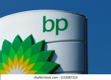 Fort Wayne - Circa August 2018: BP Retail Gas Station. BP is One of the World's Leading Integrated Oil and Gas Companies IV