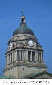 FORT WAYNE, INDIANA – APRIL 20: Allen County Courthouse on April 20, 2008 in Fort Wayne, Indiana. The county seat building was completed in 1902.