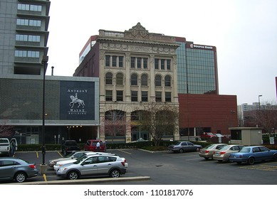 FORT WAYNE, INDIANA – APRIL 20: Classic Elektron Building on April 20, 2008 in Fort Wayne, Indiana. Designed by local architects John F. Wing and Marshall S. Mahurin, the building was erected in 1893.