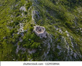Fort Stražnik within the Orjen Mountain is a former fortification of the Austro-Hungarian Empire located close to a former military base of Crkvice, Montenegro.