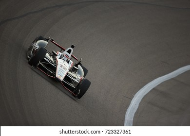 Fort Worth, Texas, USA - June 7th 2013 - Izod Indycar Series Firestone 550 - Texas Motor Speedway - Team Penske Indy driver, Will Power (12) in turn 1.