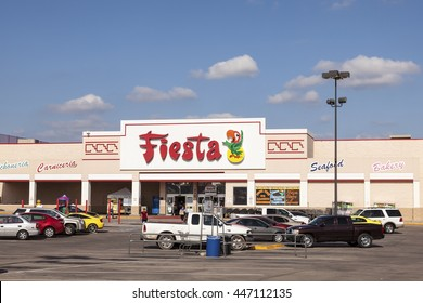 FORT WORTH, Tx, USA - APR 19, 2016: Fiesta mart supermarket. Fiesta is an American chain based in Houston, Texas