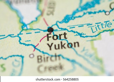Fort Yukon Alaska Map.Yukon Map Stock Photos Images Photography Shutterstock