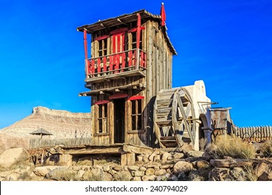 Fort Zion or the  Virgin Trading Post is just outside the town of Virgin, Utah and take you back to a mini old west town out of the 1950's.
