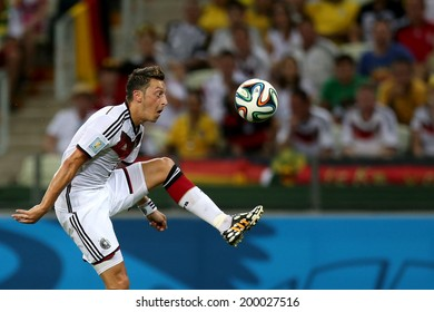 FORTALEZA, BRAZIL - June 21, 2014: Oezil of Germany is seen during the World Cup Group G game between Germany and Ghana at Estadio Castelao. No Use in Brazil.