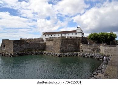 Forte de Sao Brás in Ponta Delgada (Azores)