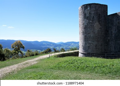 Forte Interrotto dominates the Asiago plateau, in the province of Vicenza, nothern Italy.