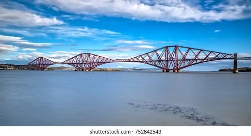 Forth Bridge in Edinburgh