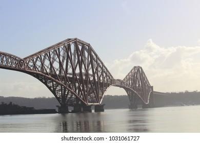 Forth Railway Bridge - Firth of Forth - Scotland