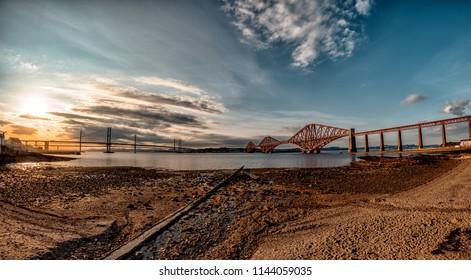 Forth Road Bridge Edinburgh Scotland South Quensferry