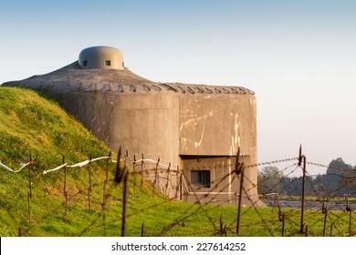 Fortification bunker WWII