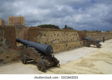 Fortification of Ceuta (Royal Walls) - Spanish autonomous city on the north coast of Africa, Spain