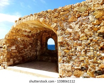 Fortifications of Chania. Firkas Fortress in Chania Harbour, the fortifications of Chania are a series of defensive walls and other fortifications which surround the city of Chania in Crete, Greece.