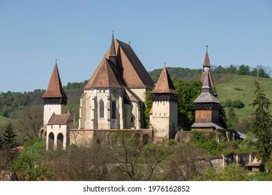 Fortified church from Biertan, Sibiu county, Romania