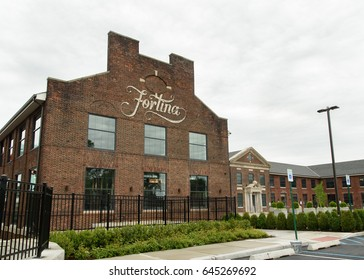 Fortina restaurant in the newly renovated Boyce Thompson Center in Yonkers, New York, Westchester County, USA on May 20, 2017.