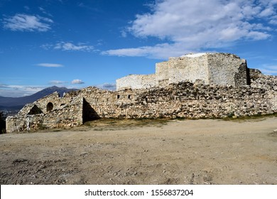 The fortress above Prizren in Kosovo