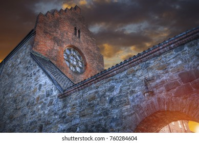fortress of Akershus - a castle in Oslo, the capital of Norway.