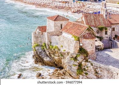 Fortress in Budva, Montenegro