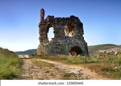 Fortress Calamita, Inkerman in the Crimea, Ukraine.