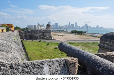 Fortress of Carthagena, Colombia.