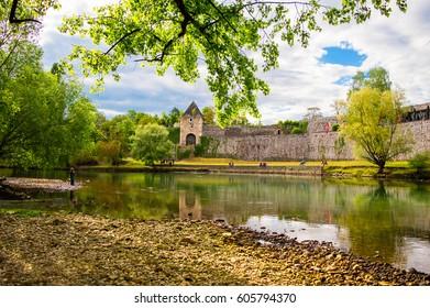 Fortress Kastel in Banja Luka - Shutterstock ID 605794370