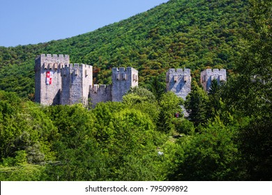 "Fortress ""Manasija"" in Serbia"