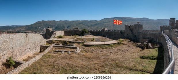 Fortress in Ohrid near the lake, Macedonia