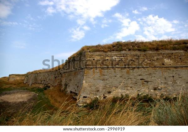 fortress on the Azov sea