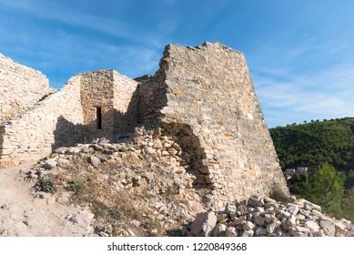 Fortress on the hill near Skradin town in Croatia