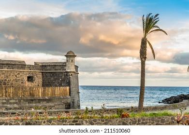Fortress at Santa-Cruz de Tenerife, Canary islands, Spain