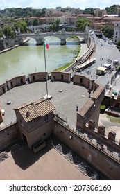 fortress of Sant'Angelo in Rome, Italy