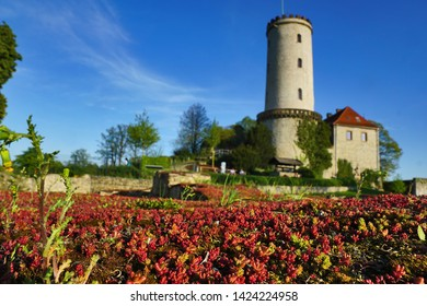 Fortress Sparrenburg Bielefeld sommer blue sky