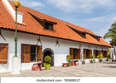Fortress Sunda Kalepa with Martime museum Jakarta, Java Island I