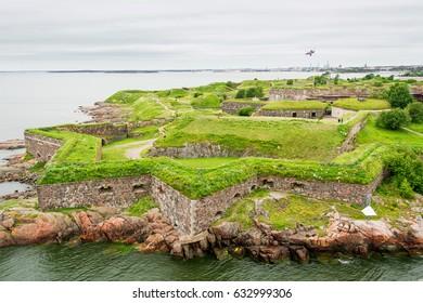 Fortress Suomenlinna in Helsinki (Finland)