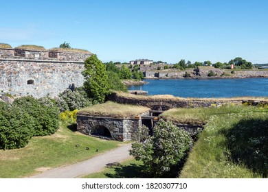 Fortress at Suomenlinna, Helsinki, Finland, UNESCO World Heritage Site