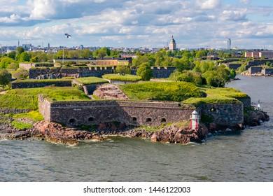 Fortress of Suomenlinna near Helsinki, Finland