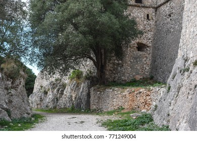 The Fortress of Villefranche in the South of France