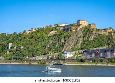 Fortriss Ehrenbreitstein, Koblenz, Germany