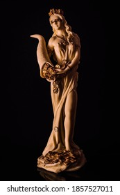 Fortuna roman goddess of wealth, money and fortune