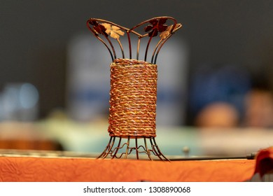 Fortune copper string made artifact