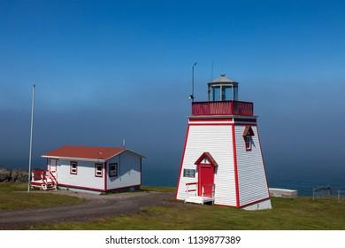 Fortune Head Lighthouse. Newfoundland and Labrador, Canada.