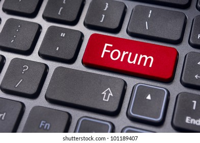forum, online or internet discussion, a popular to way communicate in internet.