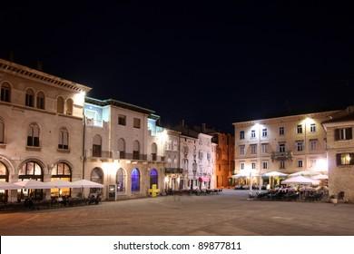 Forum square in Pula
