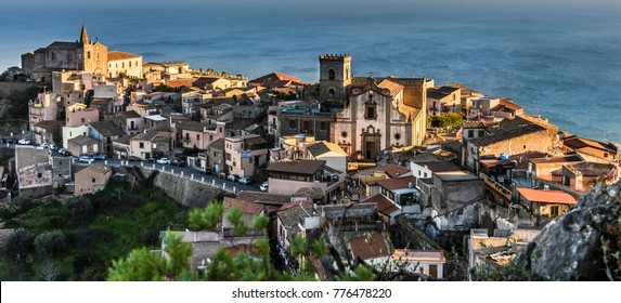 Forza D'Agro - a little town in Sicily, where the 'Godfather' movie has been shot