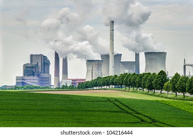 fossil energy power plant