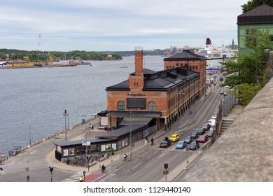 Fotografiska, Stockholm, Sweden - 20 Jun 2018: It is one of the world's largest meeting places for contemporary photography.